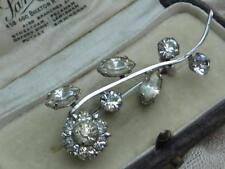 Diamante Brooch/Pin Art Deco Costume Jewellery