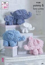 vintage elephant cushion knitting pattern 99p