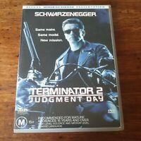 Terminator 2 Judgment Day DVD R4 Like New! FREE POST