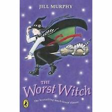 The Worst Witch  by Jill Murphy . . . . for apprx. age 7+