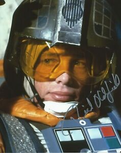 Richard Oldfield in person signed photo - Star Wars: Empire Strikes Back - K368