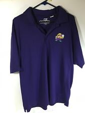 Nintendo Employee Wario Purple Polo Shirt Large Rare