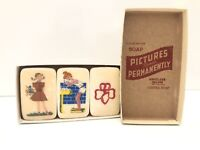 RARE! Vintage Girl Scout Illustrated Boxed Brownie Soap
