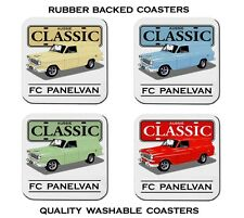 HOLDEN  FC  PANELVAN     138   SET OF  4   RUBBER DRINK  COASTERS
