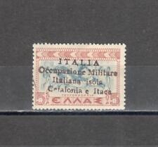 S1833 - CEFALONIA 1941 - LOTTO SERIE MITOLOGICA * LING - VEDI FOTO