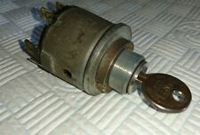 LUCAS 47SA ignition switch, with USA Eastlake Co. Curtis Ind. UN3 key FP681