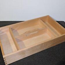 Vintage Style Wooden Craft Tote Carry Crate Storage Box Organizer Case trinket