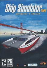 Ship Simulator Collector's Edition + New Horizons PC Game Windows Xp,7,8,10 -NEW