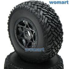 2pcs RC 1/8 Short Course Reifen Tire & Hex 17mm Felge Für 1/8 Buggy Off Road Car