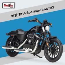 1 18 Maisto Harley Davidson 2014 Sportster Iron 883 Motorcycle Model .