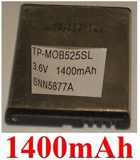 Batería 1400mAh type BF5X SNN5877A Para Motorola Defy