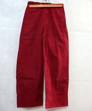 Pantalon rouge Captain tortue 10 ans
