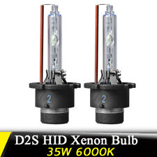 2X 35W D2S Xenon Car Replacement HID Headlight Head Light Lamp Bulb 6000K White