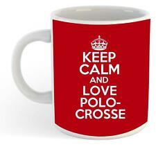 Keep Calm And Love Polocrosse  Mug - Red
