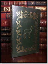 Bambi by Felix Salten Illustrated Sealed Easton Press Leather Children's Classic