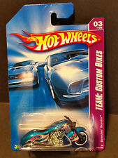 2008 Hot Wheels #151 Team Custom Bikes 3/4 - Scorchin Scooter - M6861 1L