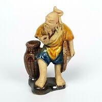 Antica Porcellana Cinese Statuina Cina Arte Orientale Orientali Dignitario 900