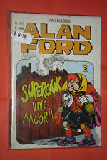 ALAN FORD-1°serie ORIGINALE- N° 117 -DI MAX BUNKER NO TNT-EDITORIALE CORNO 1979