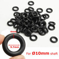100Pcs 9.7x4mm Air Control Valve Seal O-Ring For Tyre Tire Changer Foot Pedal