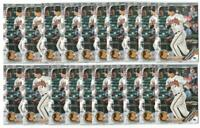 x100 RYAN MOUNTCASTLE 2019 Bowman Prospects #41 Rookie Card lot/set Orioles star