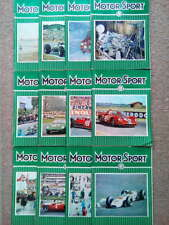Vintage Motor Sport Magazines 1965 - Vol XLI - Issues 1-12 -You Choose the Issue
