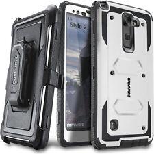 COVRWARE® [AEGIS] Full-Body Holster Case w/ Screen For LG Stylo 2 / 2 Plus / 2V