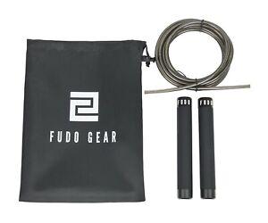 FUDO Professional Premium Aluminium Jump Rope | Perfect For Outdoor & Indoor Use