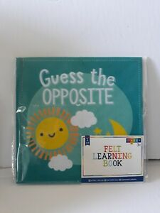 Felt Busy Book ~Guess the Opposite~ Happy Learning Horizon Group USA 76594040591