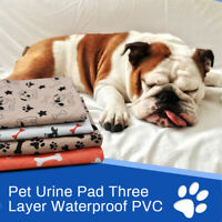 Washable Reusable Dog Puppy Pad Training Dog Diaper Urine Pads Pee Mat