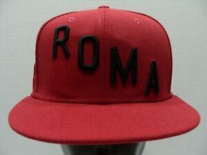 ROMA - Associazione Sportiva Roma 1927 - NIKE - SNAPBACK Baseball Cap Hat!