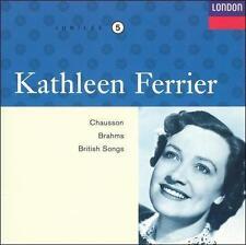 Kathleen Ferrier sings Chauson, Brahms, British Songs (CD, Oct-1999, London)5