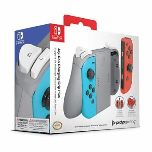 PDP Gaming Official Nintendo Switch Joy Con Charging Full Size Grip Plus