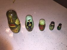 Russian Nesting Dolls Matryoshka Set 5