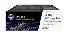 HP 312A LaserJet Toner Cartridges - Cyan, Magenta, Yellow