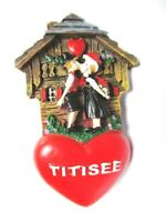 Schwarzwald Magnet Titisee Tracht Black Forest Poly Souvenir Germany