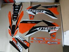 FLU DESIGNS PTS4 TEAM GRAPHICS KTM XCW XCWF EXC  2014 2015 2016 125-500