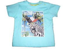 NEU Ergee witziges T-Shirt Gr. 68 hellblau mit Zebra Motiv !!