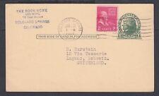 USA 1933-50 THREE UPRATED 1c JEFFERSON POSTAL STATIONERY CARDS TO EUROPE