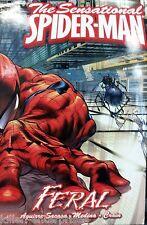 Sensational Spider-Man, Vol. 1: Feral Hardcover Comic Book 2006 - Marvel