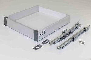 Innenschubkasten Küchenschublade Schublade Vollauszug Küchenschubkasten TBI10