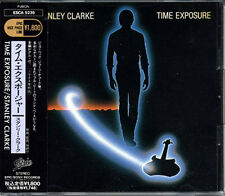 STANLEY CLARKE Time Exposure JAPAN Early Press CD 1991 W/Obi RARE!