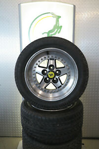"Ferrari 308 Gotti 55C 3-teilig Felgen 8x15"" + 9x15"" Split Rim Rims Wheels"
