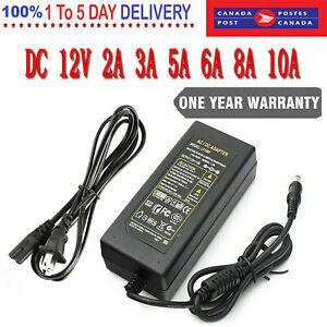 POWER SUPPLY ADAPTER CHARGER FOR LED STRIP LIGHT CCTV CAMERA Router Speaker HUB
