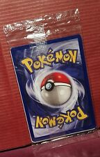 1999 carta Pokemon NUOVA First Movie Warner Brothers Promotional Card NEW RARE