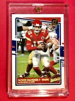 Patrick Mahomes CHIEFS HIGHLIGHTS SPECIAL INSERT DONRUSS FOOTBALL 2020 - Mint!