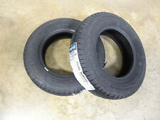 TWO New 155R12C Ironman Radial Trailer Mini Truck Tires 8 PR Load Range D