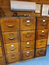 More details for antique wooden filing cabinet by cooper's