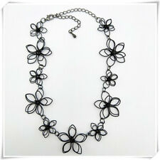 Lace Flower Clavicle Necklace Accessory G Fashion Women Lady Sexy Black Hollow