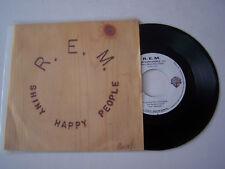 SP 2 TITRES VINYLE 45 T , R.E.M. SHINNY HAPPY PEOPLE . VG  / EX  . WB 19307