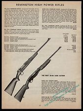 1953 REMINGTON 721A, 722A, 760A Standard Grade,760 ADK DeLuxe Rifle AD
